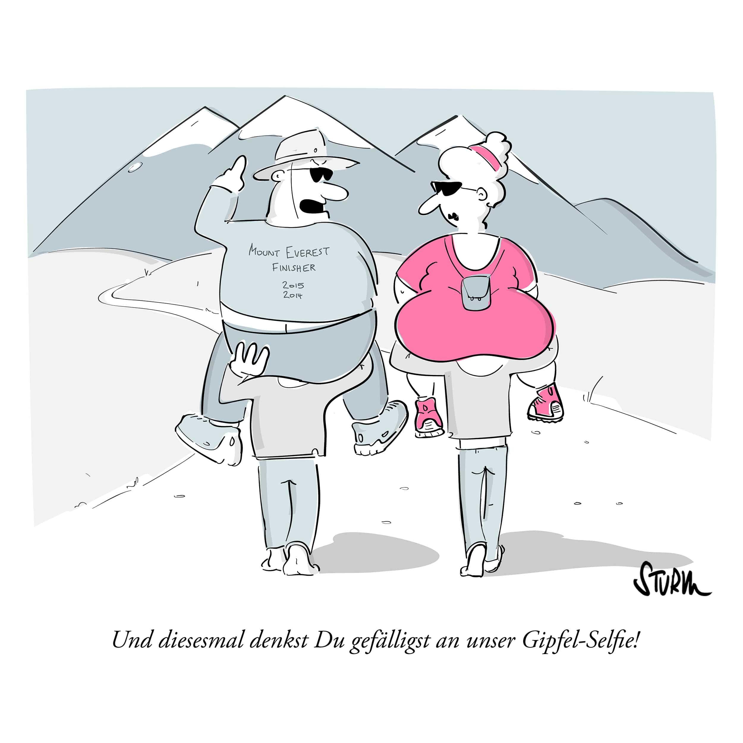 Sherpa – Cartoon Philipp Sturm
