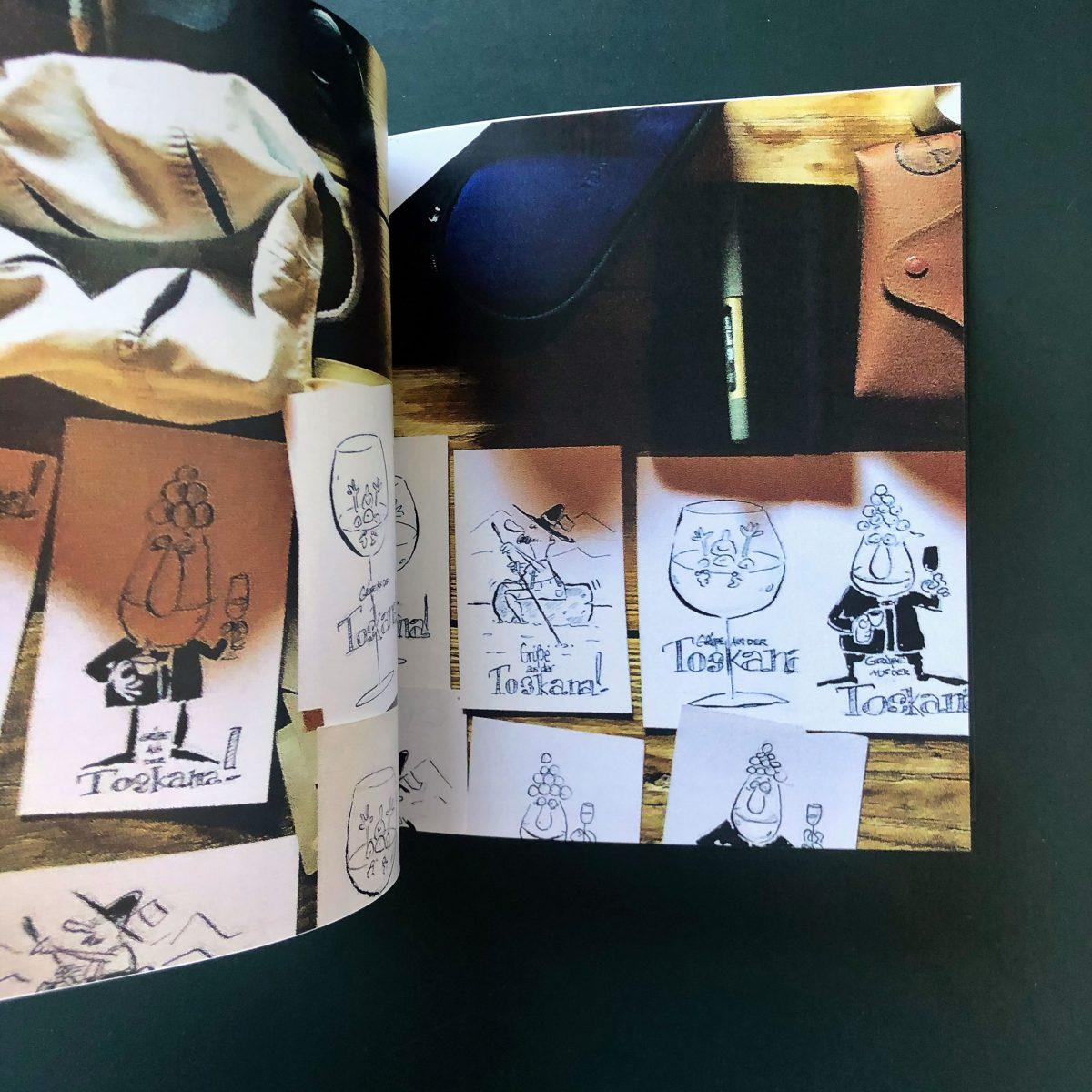Buch Cartoons 2009 - 2019 von Philipp Sturm inside view