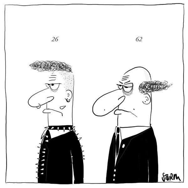 Stay Angry - Cartoon by Philipp Sturm