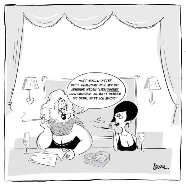 Liebhaberei - Cartoon Philipp Sturm